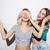 два · молодые · девочек · лицах · Cute - Сток-фото © deandrobot
