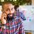 szczęśliwy · etnicznych · biznesmen · telefonu · telefon - zdjęcia stock © deandrobot