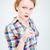 öfkeli · kadın · işaret · kamera · portre - stok fotoğraf © deandrobot