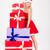 肖像 · 小さな · セクシーな女性 · サンタクロース · ギフトボックス · 笑顔 - ストックフォト © deandrobot