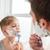apa · fia · együtt · fürdőszoba · otthon · férfi · gyermek - stock fotó © deandrobot