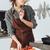 csinos · hölgy · áll · konyha · főzés · hal - stock fotó © deandrobot