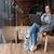 kadın · oturma · sandalye · portre · kadın - stok fotoğraf © deandrobot
