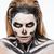 日 · 死んだ · 少女 · 砂糖 · 頭蓋骨 · 化粧 - ストックフォト © deandrobot
