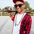 jovem · escuro · cara · óculos · de · sol - foto stock © deandrobot