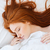 tenero · donna · dormire · letto · cute - foto d'archivio © deandrobot