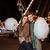 mutlu · pamuk · şeker · lunapark · portre - stok fotoğraf © deandrobot