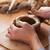 глина · стороны · Керамика · колесо · керамической · человеческая · рука - Сток-фото © deandrobot