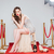 vidro · champanhe · feminino · mão · isolado - foto stock © deandrobot