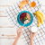 kéz · tart · kanál · gabonapehely · reggeli · csésze - stock fotó © deandrobot