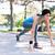 女性 · 開始 · 位置 · 実行 · 肖像 · スポーツ - ストックフォト © deandrobot