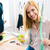 Female tailor standing in workshop stock photo © deandrobot