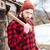 portré · komoly · hipszter · tart · balta · férfi - stock fotó © deandrobot