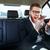 肖像 · 怒っ · ビジネスマン · 電話 · お金 - ストックフォト © deandrobot