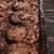 cookies · escritorio · oscuro · mesa · de · madera · imagen · panadería - foto stock © deandrobot