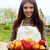 женщину · корзины · урожай · портрет · улыбаясь - Сток-фото © deandrobot