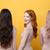 szczęśliwy · młodych · trzy · damska · znajomych · obraz - zdjęcia stock © deandrobot