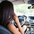 woman driving car stock photo © deandrobot