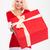 улыбаясь · Рождества · подарки · зима · одежду - Сток-фото © deandrobot