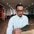 ビジネスマン · 着用 · 眼鏡 · オフィス · 創造 · コンピュータ - ストックフォト © deandrobot