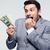 man · betalen · Bill · dollar · cash · portemonnee - stockfoto © deandrobot