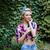 güzel · pinup · kız · genç · sarışın · kadın - stok fotoğraf © deandrobot