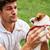 man · huisdier · yorkshire · terriër · puppy - stockfoto © deandrobot