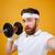 guapo · deportivo · hombre · cuerpo · musculoso · aleación - foto stock © deandrobot