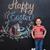 happy little boy standing inside big cracked eggshell stock photo © deandrobot
