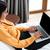 empresária · datilografia · laptop · quarto · de · hotel · viagem · de · negócios · pessoas - foto stock © deandrobot