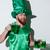 happy bearded man in green costume stock photo © deandrobot