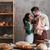 愛する · カップル · 立って · パン · 画像 - ストックフォト © deandrobot