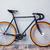 fiets · zadel · zitting · post · witte - stockfoto © deandrobot
