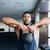 гири · фитнес · человека · веса - Сток-фото © deandrobot