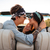 couple kissing in cabriolet in summer stock photo © deandrobot
