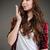 portré · csinos · fiatal · lezser · lány · küldés - stock fotó © deandrobot