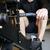 kas · adam · kürek · çekme · makine · spor · salonu · odak - stok fotoğraf © deandrobot