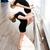 kicsi · ballerina · pózol · balett · személyes · tanár - stock fotó © deandrobot