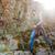 férfi · sétál · erdő · testmozgás · kint · zöld - stock fotó © deandrobot