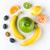 szeletel · friss · hámozott · kiwi · citrom · mandarin - stock fotó © deandrobot