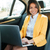 retrato · jóvenes · mujer · de · negocios · portátil · atrás · asiento - foto stock © deandrobot