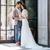 portré · menyasszony · vőlegény · áll · szeretet · férfi - stock fotó © deandrobot
