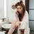 nő · lábak · fürdőkád · női · borotva · krém - stock fotó © deandrobot