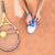 tennis player tying shoelaces stock photo © deandrobot