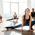 group of people working out in yoga studio stock photo © deandrobot