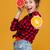 bájos · boldog · nő · friss · narancslé · áll - stock fotó © deandrobot