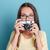 donna · sorridente · estate · foto · sorridere - foto d'archivio © deandrobot