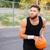 スポーツ · 男 · 演奏 · バスケットボール · 肖像 - ストックフォト © deandrobot
