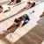 több · nemzetiségű · csoportkép · meditáció · tornaterem · nő · kezek - stock fotó © deandrobot