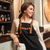 amazing young woman bartender standing in cafe stock photo © deandrobot
